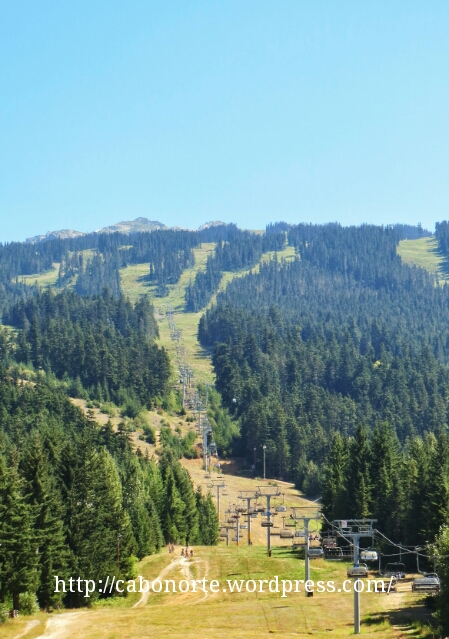 Montañas de Whistler