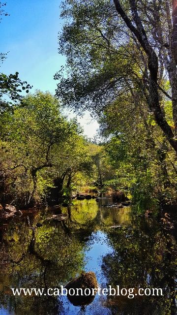 Río Arnego polo Concello de Lalín