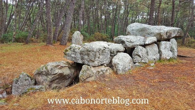 Dolmen en Carnac, Bretaña