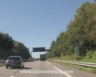 Autopista en Francia