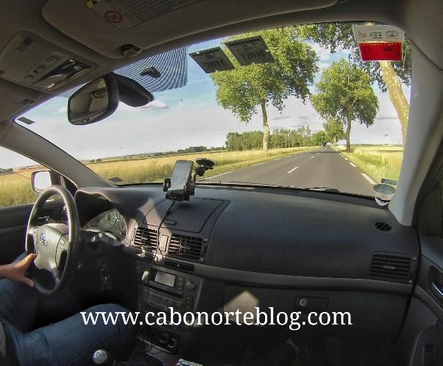 En coche por Francia