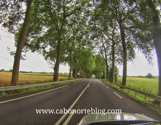 carretera en francia