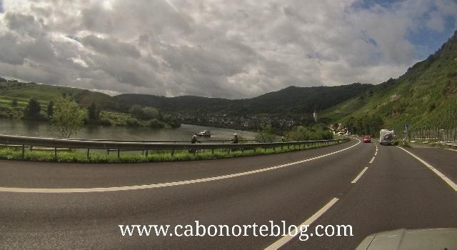 carretera alemana Mosela
