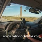 Conduciendo por el extremo Norte de Dinamarca