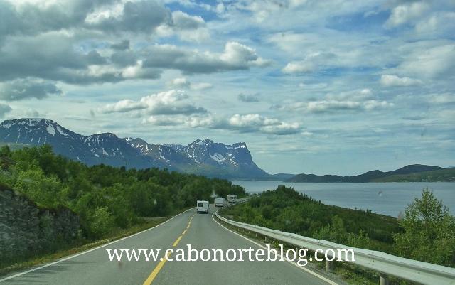 Carretera en Noruega