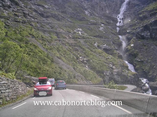 carretera de los Trolls, noruega