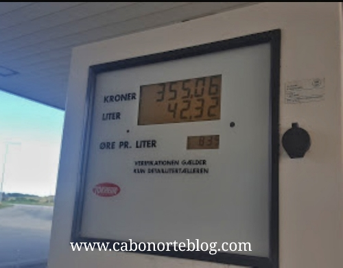 Los combustibles en los Países Escandinavos son caros