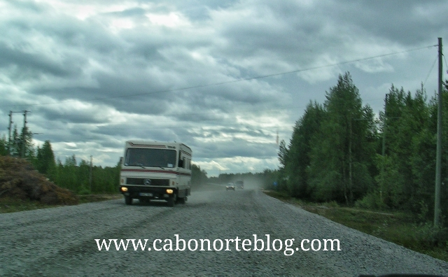 Las obras son frecuentes en las carreteras del Norte de estos países