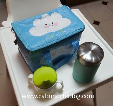 Es recomendable una bolsa térmica para llevar la comida en las excursiones