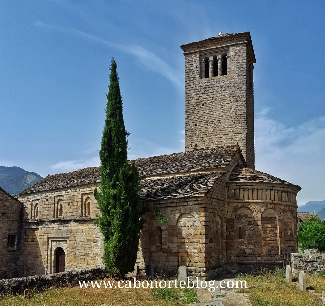 Iglesias de Serrablo, cerca de Biescas