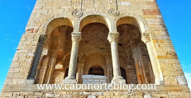 Arcos en la Iglesia de Santa María del Naranco