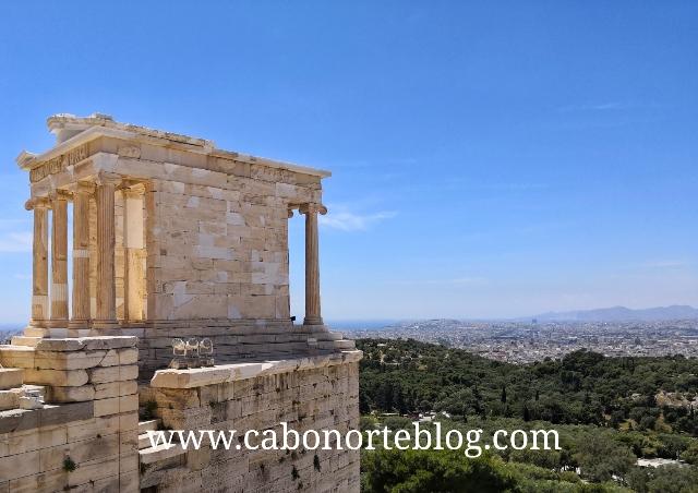 Templo de Atenea Niké, en la Acrópolis de Atenas