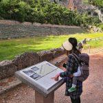 En Delfos, Grecia