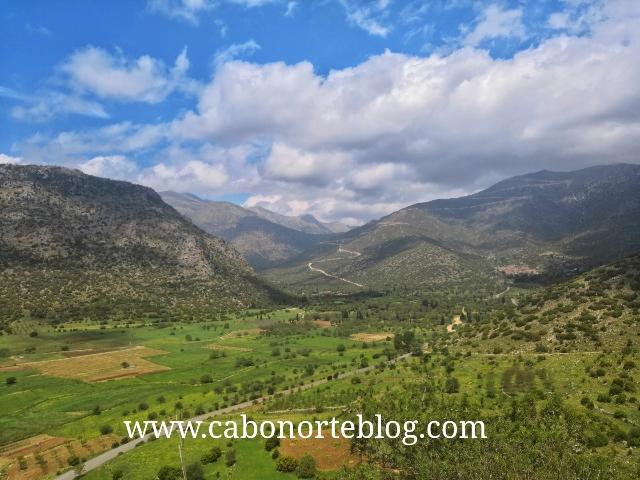 Montañas del Peloponeso