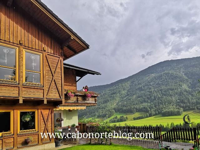 Alojamiento rural en los Alpes austríacos