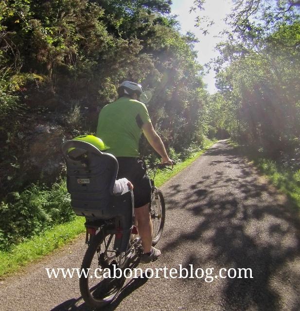 Ruta en bici con Xaquín