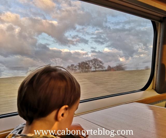En tren por Suecia