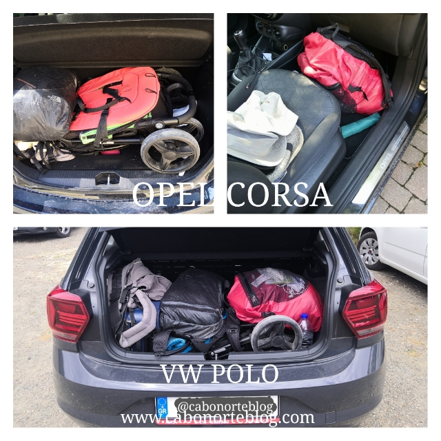 Maletero Opel Corsa vs Volkswagen Polo