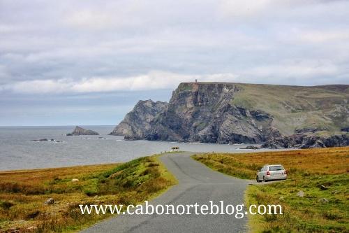 Por la costa Irlandesa