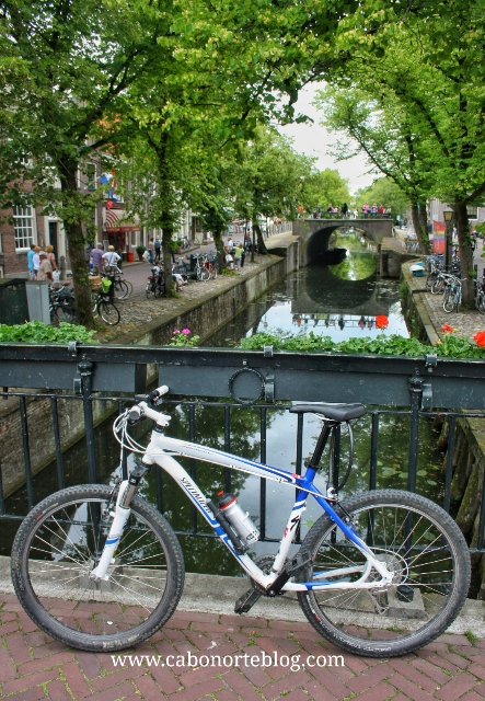 Por Holanda en bici